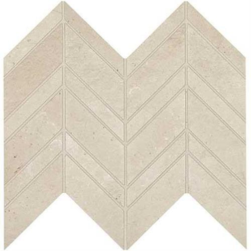 Modern Formation in Peak White Light Polished/ Unpolished/ Textured Blend  12x13 - Tile by Marazzi