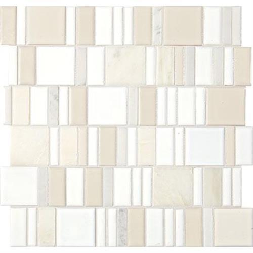 Midpark Mosaics Cloud Mosaic Square 2Xrandom - 13X13