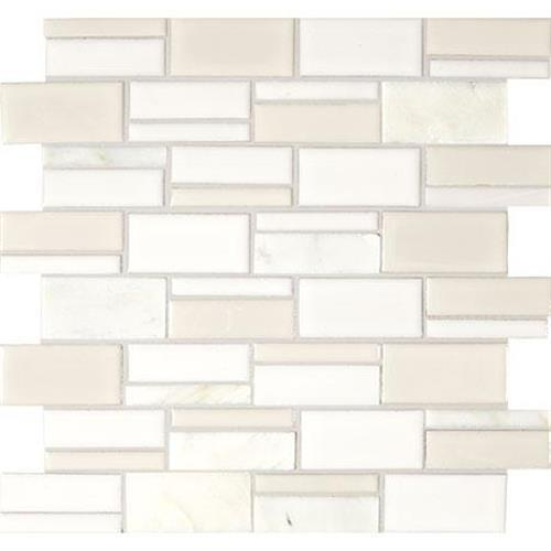 Midpark Mosaics Cloud Mosaic Rectangle 3Xrandom - 13X12