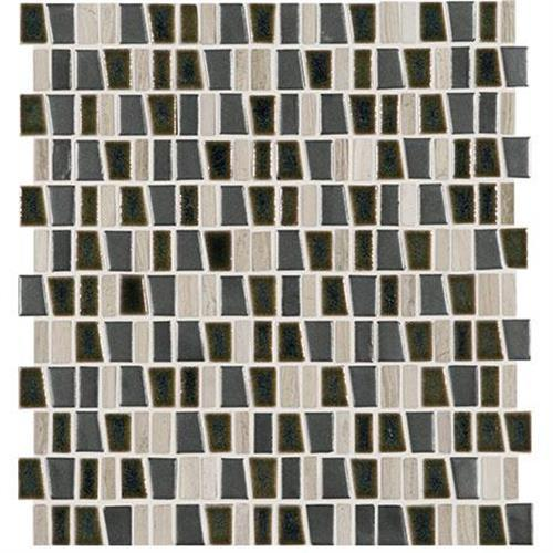 "Midpark Mosaics in Shadow Mosaic (rectangle 3""xrandom) Mosaic (rectangle 3""xrandom)   12x12 - Tile by Marazzi"