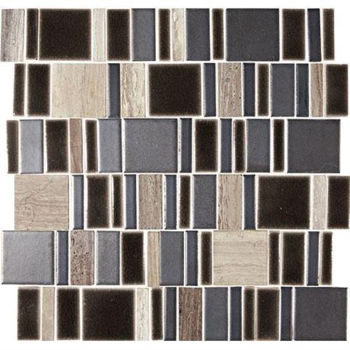 Midpark Mosaics Shadow Mosaic Square 2Xrandom - 13X13