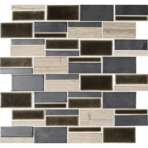 Midpark Mosaics Shadow Mosaic Rectangle 3Xrandom - 13X12