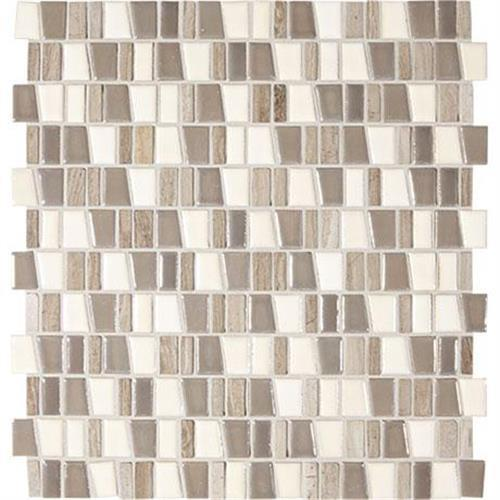 "ProductVariant swatch small for Rainstorm Mosaic (trapezoid 1""xrandom)   12x12 flooring product"