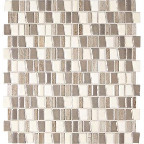 Midpark Mosaics Rainstorm Mosaic Trapezoid 1Xrandom - 12X12