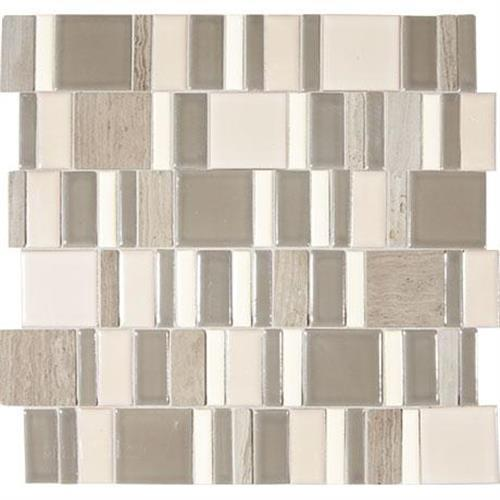 Midpark Mosaics Rainstorm Mosaic Square 2Xrandom - 13X13