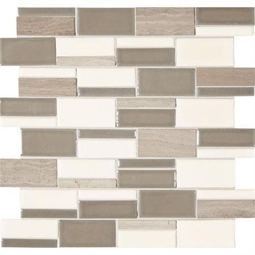 Midpark Mosaics Rainstorm Mosaic Rectangle 3Xrandom - 13X12