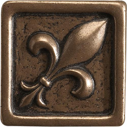 Romance Collection Insert Fleur De Lis Bronze