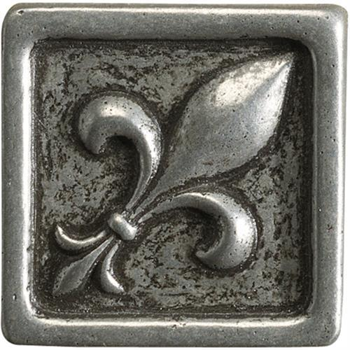 Romance Collection Insert Fleur De Lis Nickel