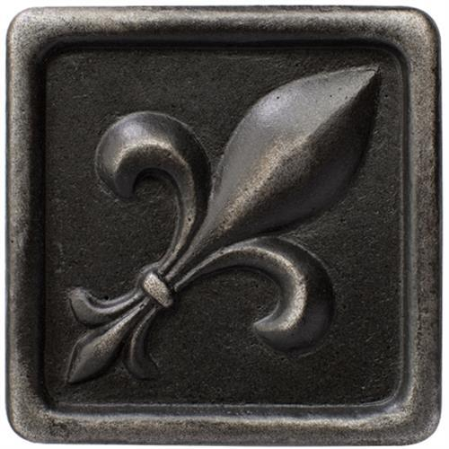 Romance Collection Insert Fleur De Lis Wrought Iron