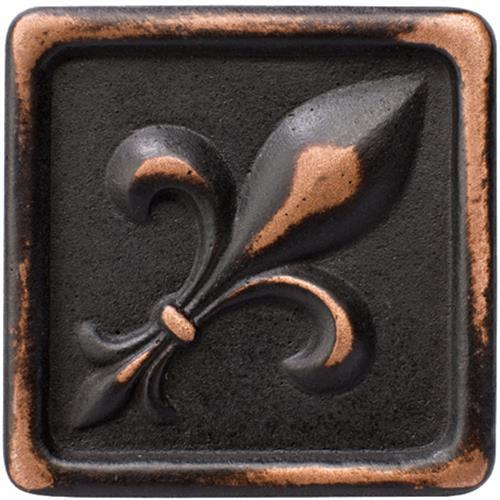 Romance Collection Insert Fleur De Lis Venetian Bronze