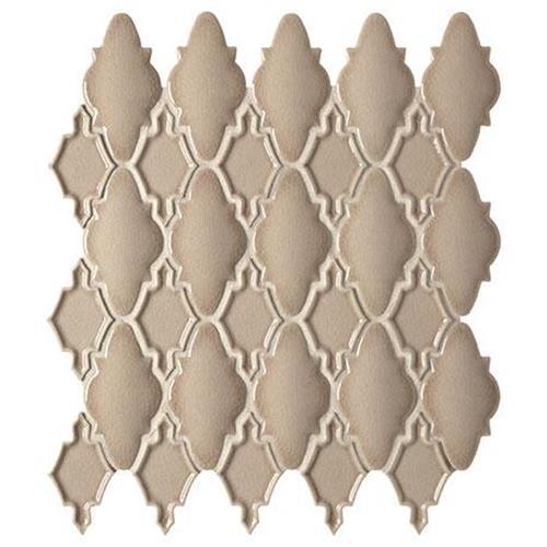 Serliana Dark Tan Mosaic Moroccan - 14X12