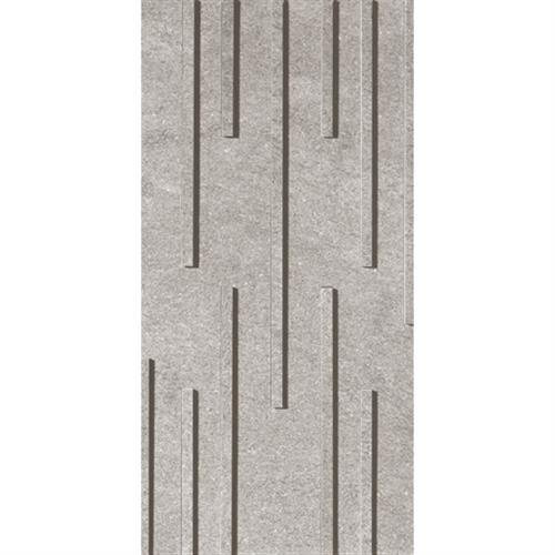 Soho Grey Fascia Mosaic Random Strip