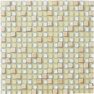 GlassTile CrystalStone LG4A Ivory58X58