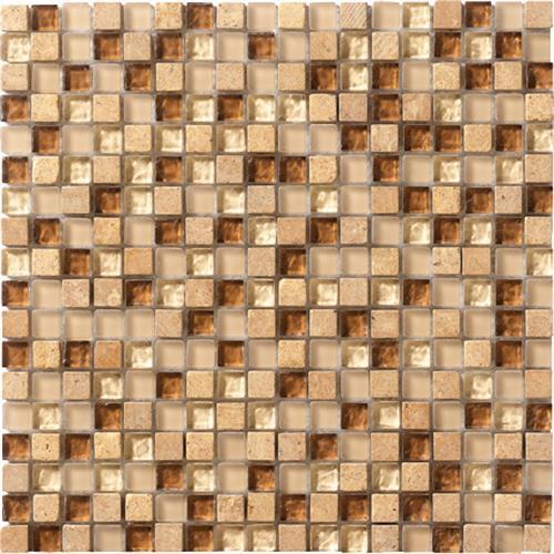 Crystal Stone Caramel 5/8 X 5/8