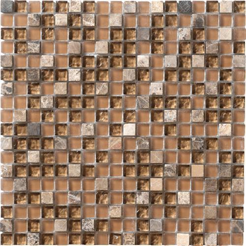 Crystal Stone Walnut 5/8 X 5/8