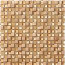 GlassTile Crystal Stone Honey (5/8 X 5/8)  thumbnail #1
