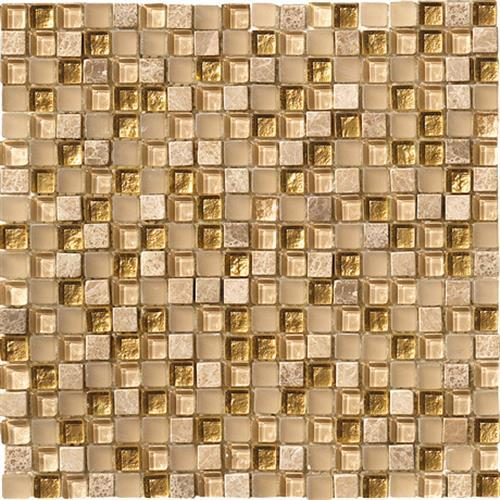 Crystal Stone Gold 5/8 X 5/8