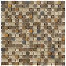 GlassTile Crystal Stone ll Terracotta (5/8 X 5/8)  thumbnail #1