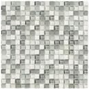 GlassTile Crystal Stone ll Pearl (5/8 X 5/8)  thumbnail #1