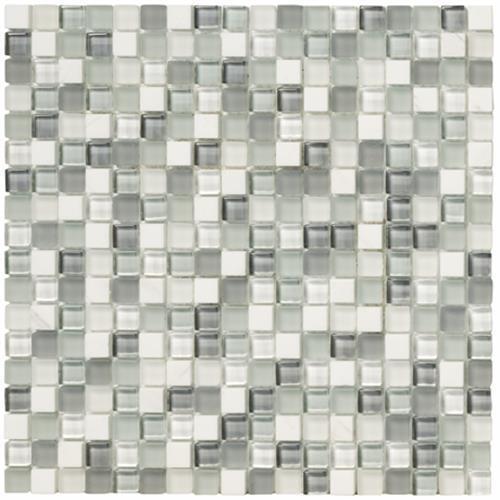 Crystal Stone Ll Pearl 5/8 X 5/8
