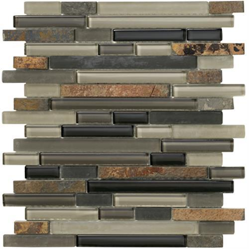Crystal Stone Ll Slate Random Strip