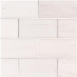 NaturalStone BiancoDolomite BIADO-3x6Subway BiancoDolomite-3x6Subway