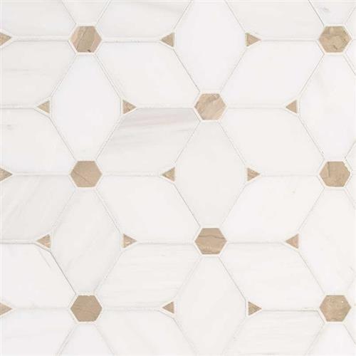 Bianco Dolomite Bianco Dolomite - Cecily Pattern