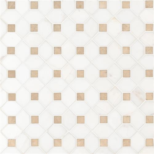 Bianco Dolomite Bianco Dolomite - Crema Dotty