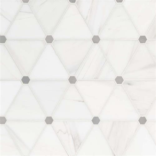 Bianco Dolomite Bianco Dolomite - Pinwheel