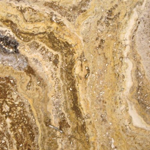 Travertine Tuscany Scabas - 4X4 Tumbled