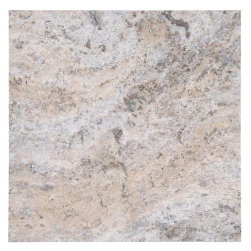 Travertine Silver Travertine - Pattern Tumbled