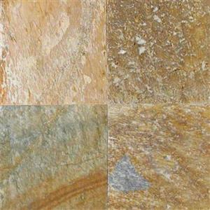 NaturalStone Quartzite SGLDQTZ66-T-G GoldenWhite-6x6Gauged