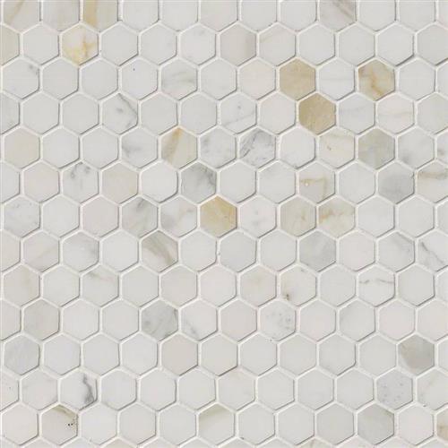Calacatta Marble Calacatta Marble - 1 Hexagon