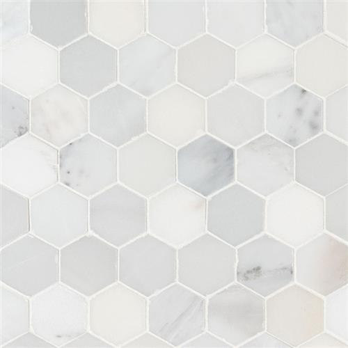Arabescato Carrara Arabescato Carrara - 2 Hexagon