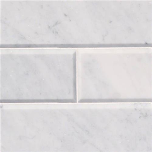 Arabescato Carrara Arabescato Carrara - 4X12 Beveled
