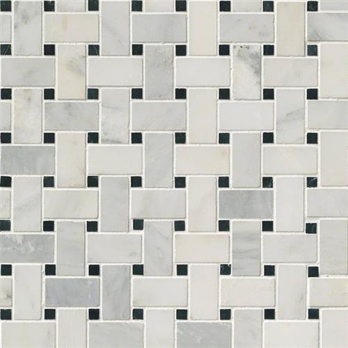 Arabescato Carrara Arabescato Carrara - Black White Basket