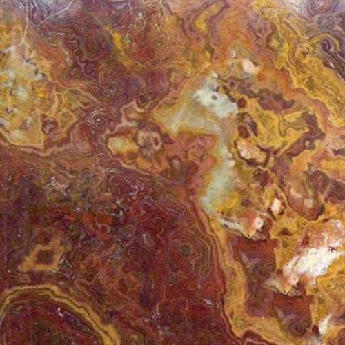 MSI Stone Onyx Multi Red - 12x12 Polished Natural Stone