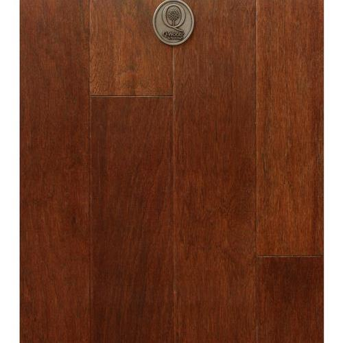 Q-Wood - Wirebrushed Copper Penny Hickory QUHR575