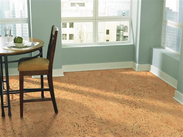Natural Cork Wide Tile Mistral