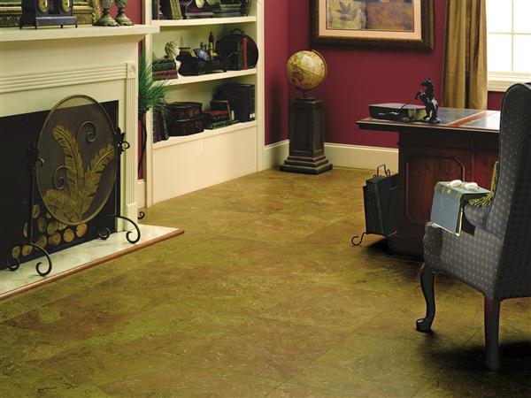 Natural Cork Wide Tile Delgada