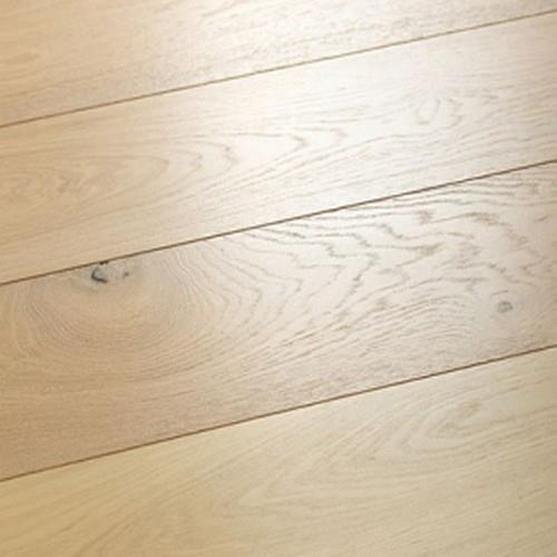 A close-up (swatch) photo of the Seashell Oak flooring product