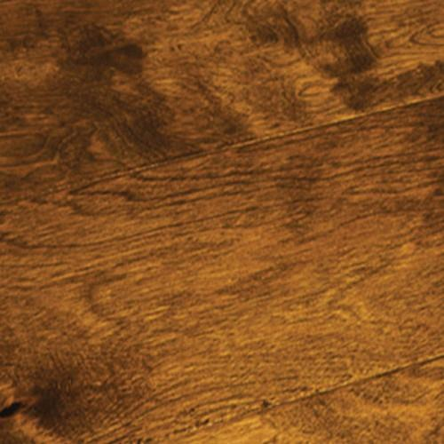 A close-up (swatch) photo of the Whiskey Barrel Birch flooring product