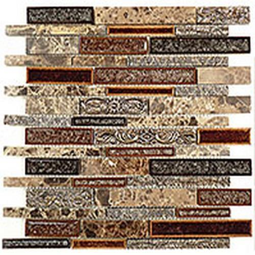 Tranquil Random Brick Series Scottsdale Brass