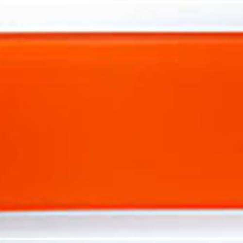 Crystile Series 3X6 Orange Burst
