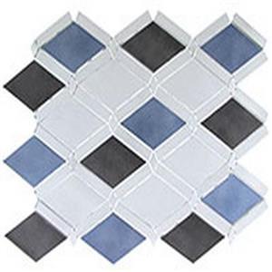 GlassTile FallingStarSeries-AluminumMix FGS-225 SleekCeylon