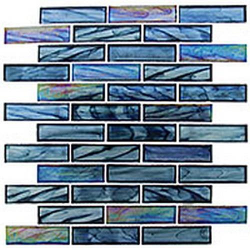 Oceania Series - Brick Pattern Cobalt Sea