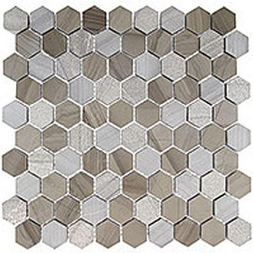 Glazzio Tiles Excaliber Series Smokey Tan Glass Tile