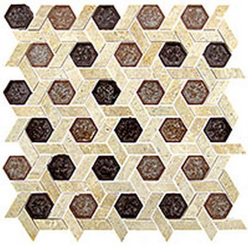 Tranquil Hexagon Series Jerusalem Garden