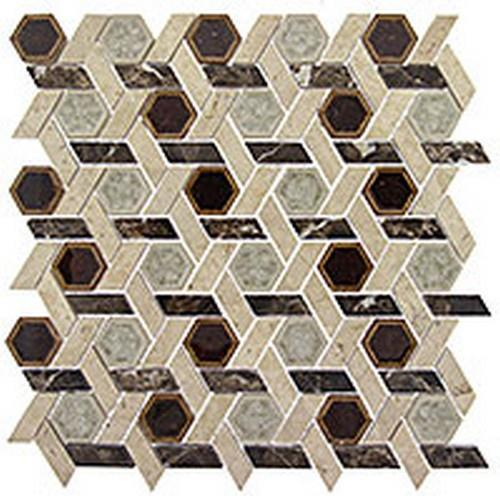 Tranquil Hexagon Series Temple Inspiration