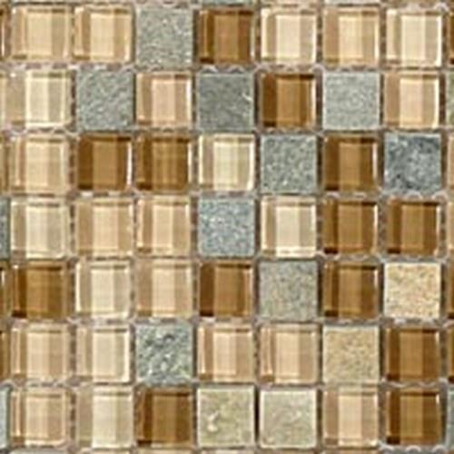 Glass  Slate Series Chestnut Screen